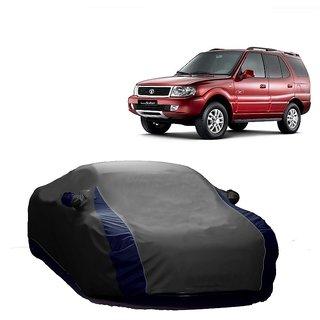 InTrend UV Resistant Car Cover For Nissan Sunny (Designer Grey  Blue )