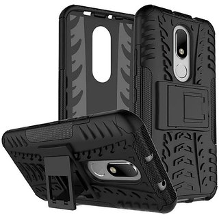 best sneakers c4273 ed277 MOTOROLA MOTO M DEFENDER BACK COVER Armor black case with kickstand