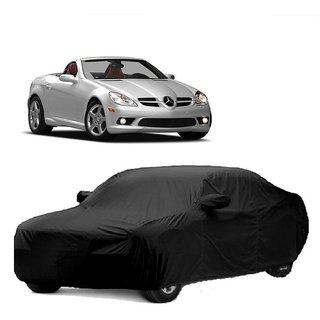 Speediza All Weather  Car Cover For Tata Sumo Grande (Black With Mirror )