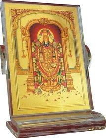 GoldArt GoldFoil Table Top Frame Size 1 Lord Srinivasa Religious Frame