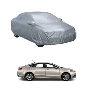 AutoBurn UV Resistant Car Cover For Mercedes Benz GL (Silver With Mirror )