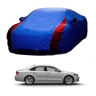Speediza Water Resistant  Car Cover For Mahindra Reva (Designer Blue  Red )