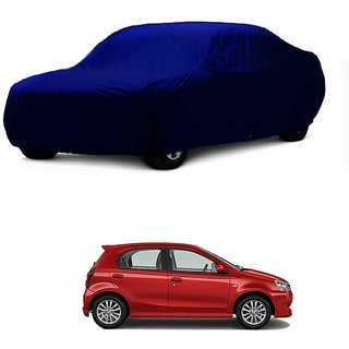 SpeedRo All Weather  Car Cover For Chevrolet Enjoy (Blue Without Mirror )