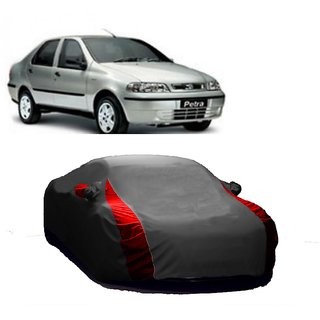 SpeedRo All Weather  Car Cover For Audi RS5 (Designer Grey  Red )
