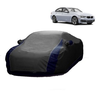 SpeedGlorY All Weather  Car Cover For Tata Zest (Designer Grey  Blue )