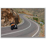 Ktm Super Bike On Road Poster By Artifa