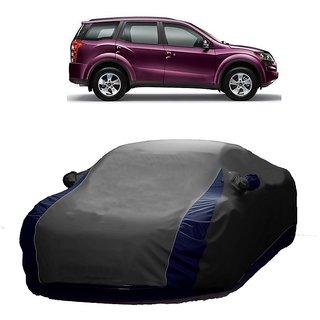 SpeedGlorY All Weather  Car Cover For Chevrolet Aveo Uva (Designer Grey  Blue )