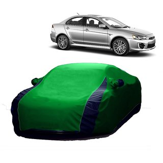 Speediza All Weather  Car Cover For Renault Kwid (Designer Green  Blue )