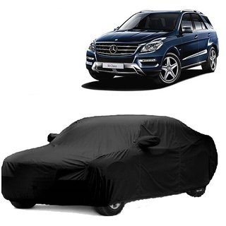 InTrend UV Resistant Car Cover For Skoda Octavia (Black With Mirror )