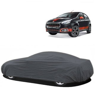 InTrend UV Resistant Car Cover For Audi S4 (Grey Without Mirror )