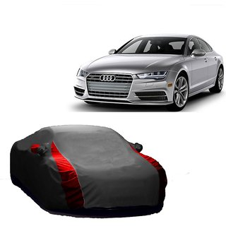 SpeedRo All Weather  Car Cover For Maruti Suzuki Stingray (Designer Grey  Red )