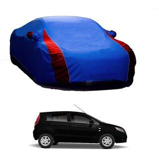 SpeedGlorY All Weather  Car Cover For Maruti Suzuki Swift Dzire New (Designer Blue  Red )