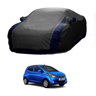 Speediza All Weather  Car Cover For Renault Duster (Designer Grey  Blue )