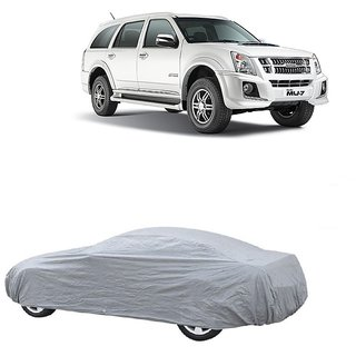 InTrend UV Resistant Car Cover For Chevrolet Optra (Silver Without Mirror )