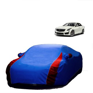 Speediza All Weather  Car Cover For Tata Sonata (Designer Blue  Red )