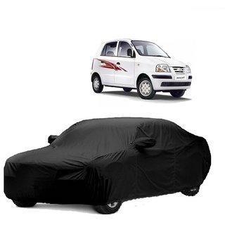 SpeedGlorY All Weather  Car Cover For Maruti Suzuki Swift New (Black With Mirror )