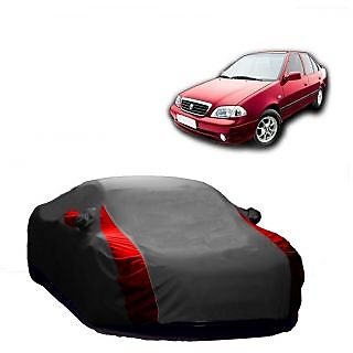 Speediza All Weather  Car Cover For Ford Ecosport (Designer Grey  Red )