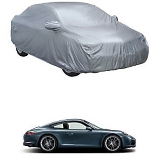 AutoBurn UV Resistant Car Cover For Mercedes Benz A180 (Silver With Mirror )