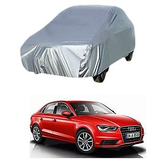 InTrend All Weather  Car Cover For Maruti Suzuki 800 (Silver Without Mirror )