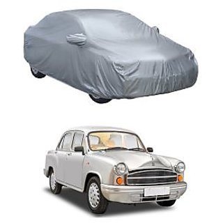 InTrend All Weather  Car Cover For Maruti Suzuki Alto (Silver With Mirror )