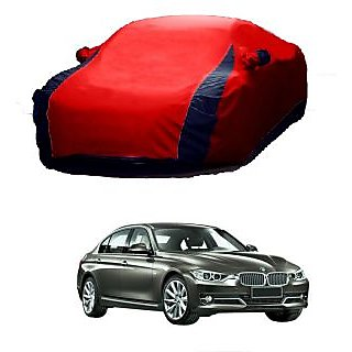 AutoBurn UV Resistant Car Cover For Chevrolet Aveo Uva (Designer Red  Blue )