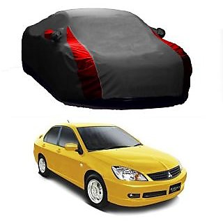 Speediza All Weather  Car Cover For Tata Bolt (Designer Grey  Red )