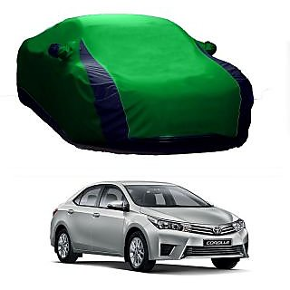 SpeedGlorY All Weather  Car Cover For Toyota Camry (Designer Green  Blue )