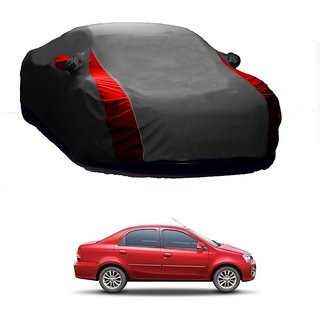 Speediza All Weather  Car Cover For Maruti Suzuki Eeco (Designer Grey  Red )
