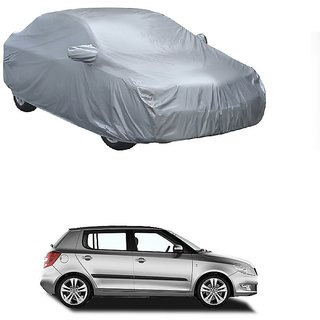 Speediza All Weather  Car Cover For Maruti Suzuki Esteem (Silver With Mirror )