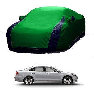 Speediza All Weather  Car Cover For Datsun Redi GO (Designer Green  Blue )