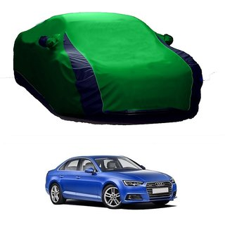 AutoBurn Car Cover For Audi A6 (Designer Green  Blue )