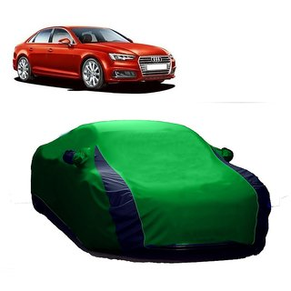 SpeedGlorY All Weather  Car Cover For Mercedes Benz A180 (Designer Green  Blue )