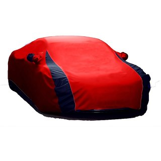 SpeedGlorY All Weather  Car Cover For Audi A7 (Designer Red  Blue )