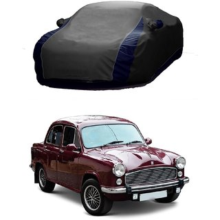 MotRoX Water Resistant  Car Cover For Mitsubishi CEDIA (Designer Grey  Blue )
