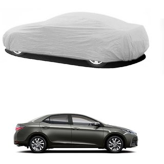 SpeedGlorY All Weather  Car Cover For Chevrolet Captiva (Silver Without Mirror )