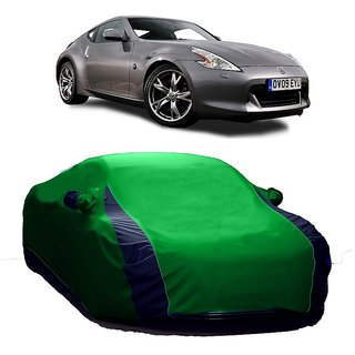 SpeedGlorY All Weather  Car Cover For Tata Zest (Designer Green  Blue )