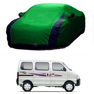 SpeedGlorY All Weather  Car Cover For Hyundai Creta (Designer Green  Blue )