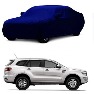 SpeedGlorY All Weather  Car Cover For Mercedes Benz A180 (Blue With Mirror )