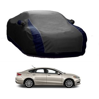 Speediza All Weather  Car Cover For Toyota Fortuner (Designer Grey  Blue )