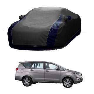 SpeedGlorY All Weather  Car Cover For Toyota Innova (Designer Grey  Blue )