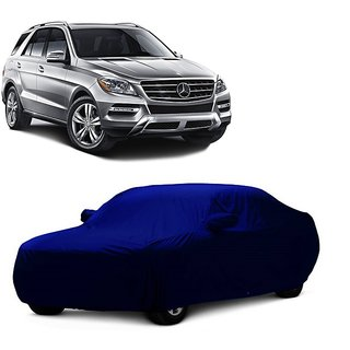 Speediza All Weather  Car Cover For Fiat Palio (Blue With Mirror )