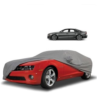 Speediza All Weather  Car Cover For Chevrolet Spark (Grey With Mirror )