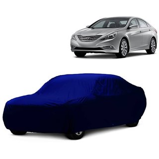 SpeedGlorY All Weather  Car Cover For Mahindra TUV 301 (Blue Without Mirror )