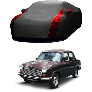 Speediza All Weather  Car Cover For Maruti Suzuki Alto K10 (Designer Grey  Red )