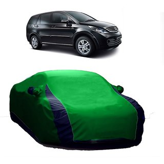 SpeedGlorY All Weather  Car Cover For Maruti Suzuki Alto K10 New (Designer Green  Blue )