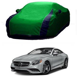 DrivingAID Car Cover For Mini Countryman (Designer Green  Blue )
