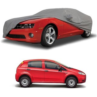 SpeedGlorY All Weather  Car Cover For Volvo S40 (Grey With Mirror )