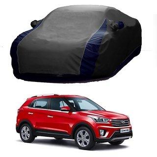 MotRoX Water Resistant  Car Cover For Honda Civic (Designer Grey  Blue )