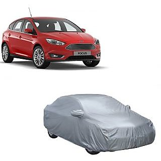 Speediza All Weather  Car Cover For Skoda Fabia (Silver With Mirror )