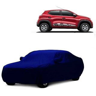 Speediza All Weather  Car Cover For Fiat Punto Evo (Blue With Mirror )